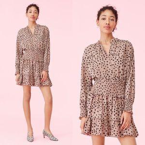 Rebecca Taylor | La Vie Le Faune Crepe Dress